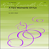 Download or print Beck Few Moments Of Fun, A Sheet Music Printable PDF 8-page score for Classical / arranged Percussion Ensemble SKU: 124761.