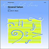 Download or print Beck Grand Teton Sheet Music Printable PDF 2-page score for Classical / arranged Percussion Solo SKU: 124780.