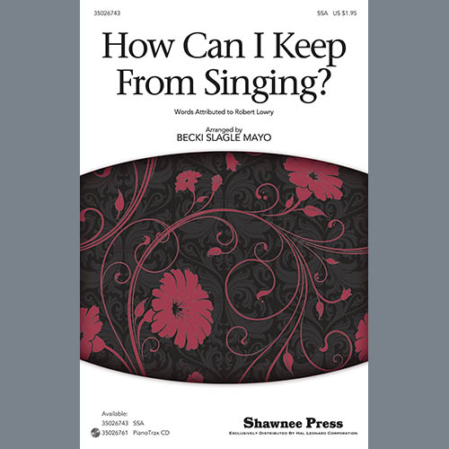 Easily Download Becki Slagle Mayo Printable PDF piano music notes, guitar tabs for SSA Choir. Transpose or transcribe this score in no time - Learn how to play song progression.