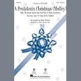 Download Ben Bram 'A Pentatonix Christmas - Flute' Printable PDF 4-page score for Christmas / arranged Choir Instrumental Pak SKU: 367176.