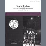 Download Ben E. King 'Stand By Me (arr. Steve Delehanty)' Printable PDF 8-page score for Barbershop / arranged SATB Choir SKU: 432644.