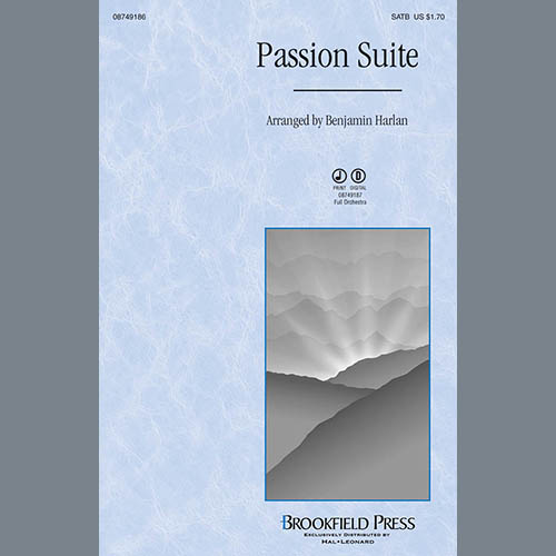 Easily Download Benjamin Harlan Printable PDF piano music notes, guitar tabs for SATB Choir. Transpose or transcribe this score in no time - Learn how to play song progression.