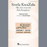 Download or print Bernard Krüger Sivela Kwazulu Sheet Music Printable PDF 10-page score for A Cappella / arranged TTBB Choir SKU: 195520.