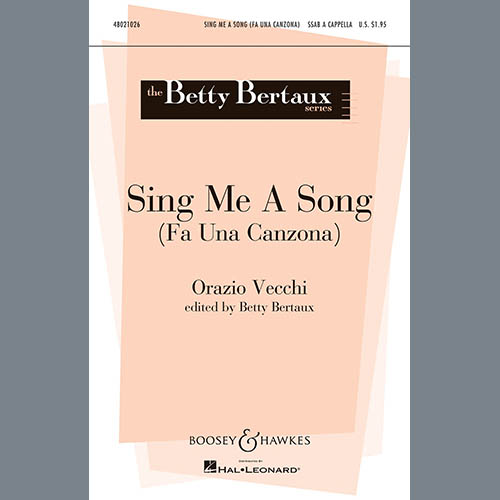 Easily Download Betty Bertaux Printable PDF piano music notes, guitar tabs for SATB Choir. Transpose or transcribe this score in no time - Learn how to play song progression.