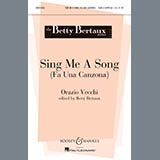 Download or print Betty Bertaux Sing Me A Song (Fa Una Canzona) Sheet Music Printable PDF 5-page score for A Cappella / arranged SATB Choir SKU: 93134.