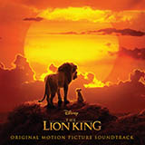 Download or print Beyonce Spirit (from The Lion King 2019) Sheet Music Printable PDF 5-page score for Disney / arranged Big Note Piano SKU: 424391.