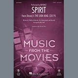 Download or print Beyonce Spirit (from The Lion King 2019) (arr. Mac Huff) Sheet Music Printable PDF 11-page score for Disney / arranged 2-Part Choir SKU: 426696.