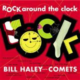 Download or print Bill Haley & His Comets Rock Around The Clock Sheet Music Printable PDF 2-page score for Pop / arranged Violin Duet SKU: 409205.