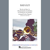 Download Billie Eilish 'Bad Guy (arr. Jay Dawson) - Aux. Percussion' Printable PDF 1-page score for Pop / arranged Marching Band SKU: 423372.