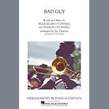 Download Billie Eilish 'Bad Guy (arr. Jay Dawson) - Bass Drums' Printable PDF 1-page score for Pop / arranged Marching Band SKU: 423370.