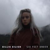 Download Billie Eilish 'Six Feet Under' Printable PDF 2-page score for Pop / arranged Super Easy Piano SKU: 450909.