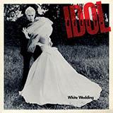 Download or print Billy Idol White Wedding Sheet Music Printable PDF 6-page score for Pop / arranged School of Rock – Drums SKU: 252628.