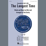 Download Billy Joel 'The Longest Time (arr. Tom Gentry)' Printable PDF 5-page score for Barbershop / arranged SSAA Choir SKU: 432630.