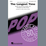 Download Kirby Shaw 'The Longest Time (SAB with Tenor Solo)' Printable PDF 10-page score for Pop / arranged SAB Choir SKU: 289926.