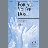 Download BJ Davis 'For All You've Done - Bass Clarinet (Cello sub)' Printable PDF 2-page score for Contemporary / arranged Choir Instrumental Pak SKU: 280716.