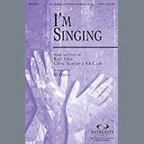 Download BJ Davis 'I'm Singing' Printable PDF 10-page score for Contemporary / arranged SATB Choir SKU: 280804.