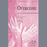 Download BJ Davis 'Overcome - Keyboard String Reduction' Printable PDF 5-page score for Contemporary / arranged Choir Instrumental Pak SKU: 284616.