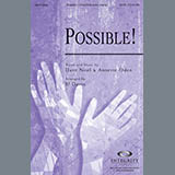 Download BJ Davis 'Possible!' Printable PDF 11-page score for Contemporary / arranged SATB Choir SKU: 290535.