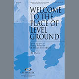 Download BJ Davis 'Welcome To The Place Of Level Ground - Keyboard String Reduction' Printable PDF 4-page score for Contemporary / arranged Choir Instrumental Pak SKU: 302543.