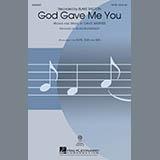 Download or print Blake Shelton God Gave Me You (arr. Alan Billingsley) Sheet Music Printable PDF 11-page score for Country / arranged SAB Choir SKU: 434736.