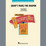 Download or print Blue Oyster Cult (Don't Fear) The Reaper (arr. Paul Murtha) - Bb Clarinet 1 Sheet Music Printable PDF 2-page score for Rock / arranged Jazz Ensemble SKU: 416627.