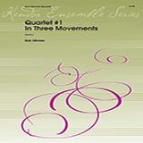 Download Bob Mintzer 'Quartet #1 In Three Movements - Eb Alto Saxophone' Printable PDF 5-page score for Classical / arranged Woodwind Ensemble SKU: 405310.