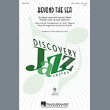 Download Audrey Snyder 'Beyond The Sea' Printable PDF 7-page score for Jazz / arranged 2-Part Choir SKU: 290056.