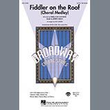 Download Bock & Harnick 'Fiddler On The Roof (Choral Medley) (arr. Ed Lojeski)' Printable PDF 9-page score for Musical/Show / arranged SATB Choir SKU: 283938.