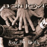 Download or print Bon Jovi Keep The Faith Sheet Music Printable PDF 2-page score for Rock / arranged Keyboard (Abridged) SKU: 109453.