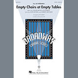 Download Boublil and Schonberg 'Empty Chairs At Empty Tables (from Les Miserables) (arr. Ed Lojeski)' Printable PDF 7-page score for Musical/Show / arranged TBB Choir SKU: 253636.