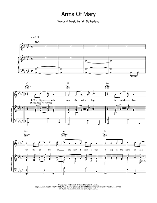 Boyzone Arms Of Mary sheet music notes and chords. Download Printable PDF.