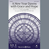 Download Brad Nix 'A New Year Dawns with Grace and Hope - Handbells' Printable PDF 5-page score for Sacred / arranged Choir Instrumental Pak SKU: 343834.