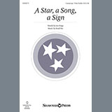 Download or print Brad Nix A Star, A Song, A Sign Sheet Music Printable PDF 2-page score for Children / arranged Unison Choir SKU: 152213.