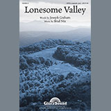 Download or print Brad Nix Lonesome Valley Sheet Music Printable PDF 9-page score for A Cappella / arranged SATB Choir SKU: 93695.