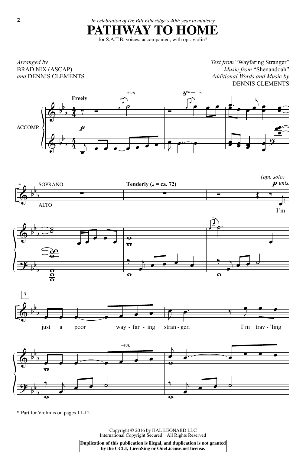 Brad Nix Pathway To Home sheet music notes and chords. Download Printable PDF.