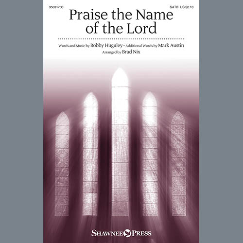 Easily Download Brad Nix Printable PDF piano music notes, guitar tabs for SATB Choir. Transpose or transcribe this score in no time - Learn how to play song progression.