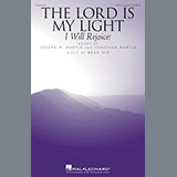 Download or print Brad Nix The Lord Is My Light (I Will Rejoice!) Sheet Music Printable PDF 7-page score for A Cappella / arranged SATB Choir SKU: 196599.