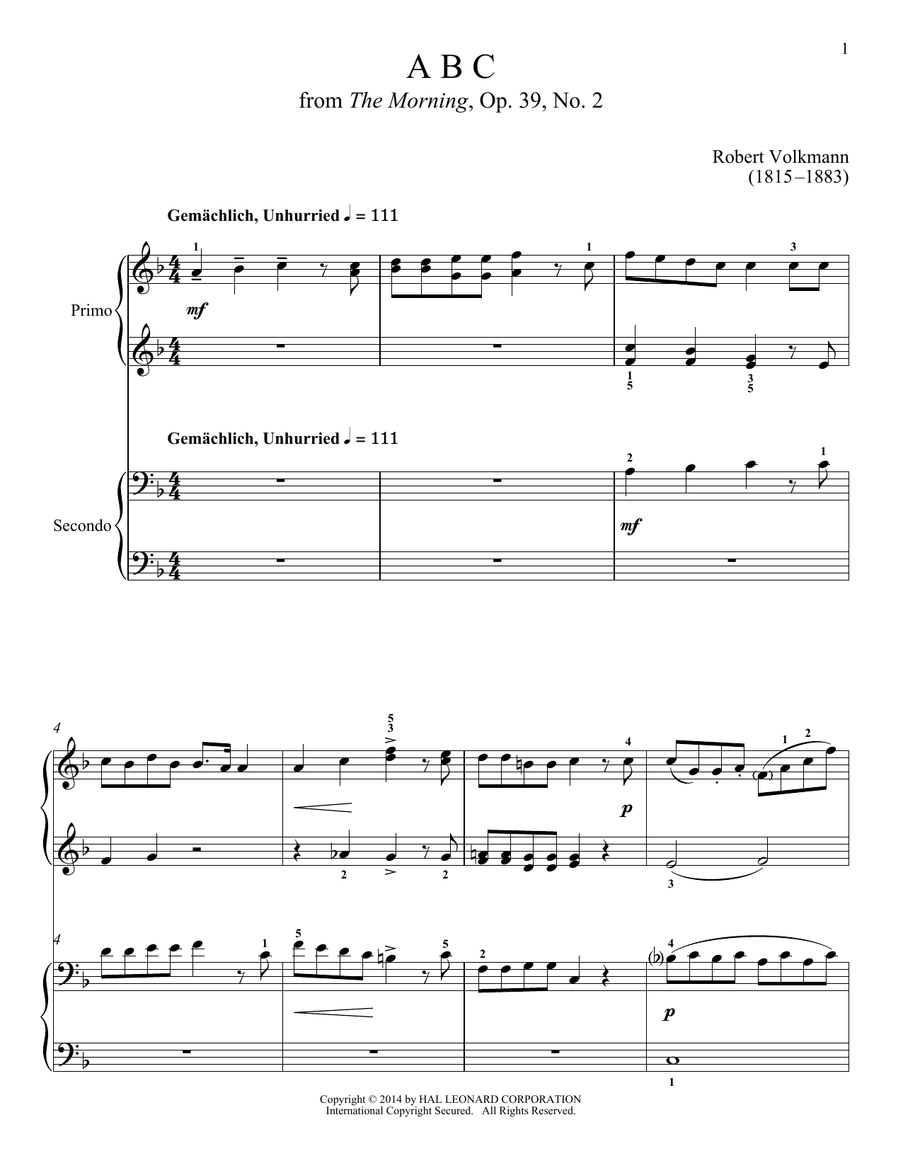 Bradley Beckman ABC sheet music notes and chords