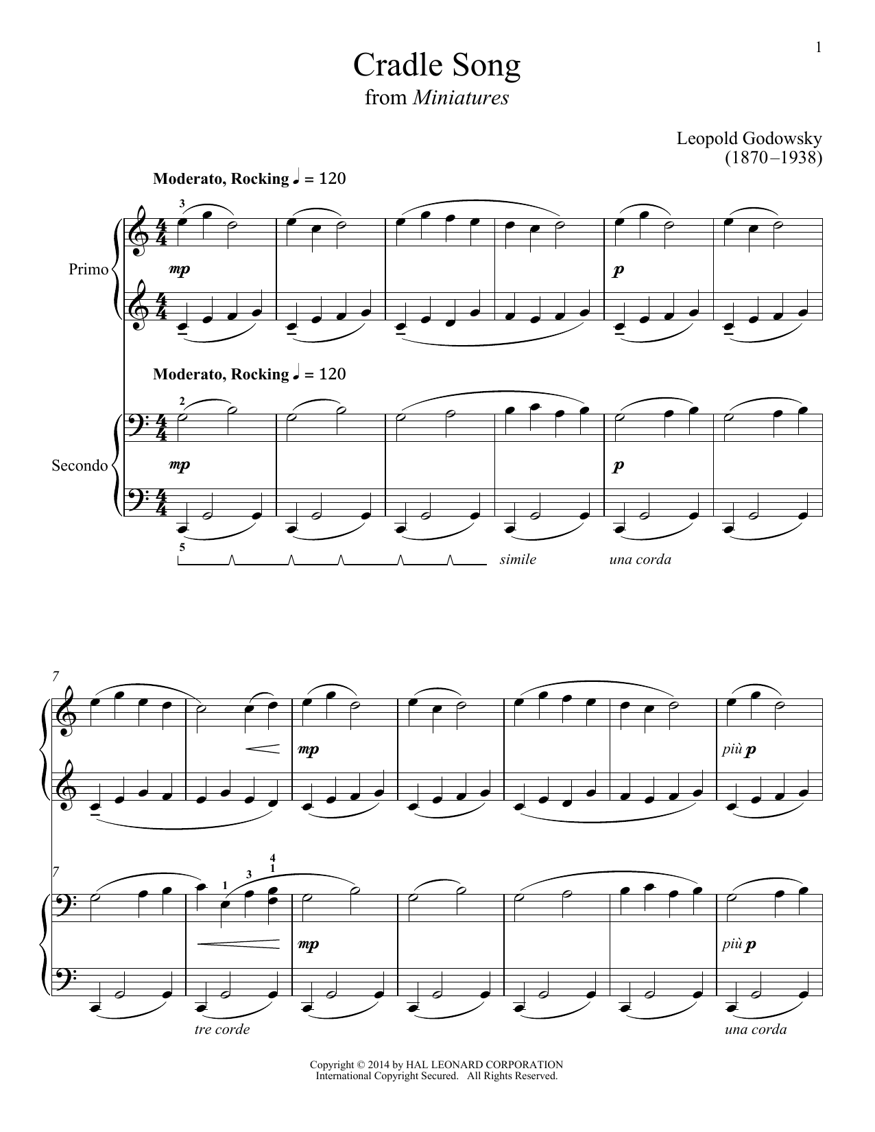 Bradley Beckman Cradle Song sheet music notes and chords. Download Printable PDF.