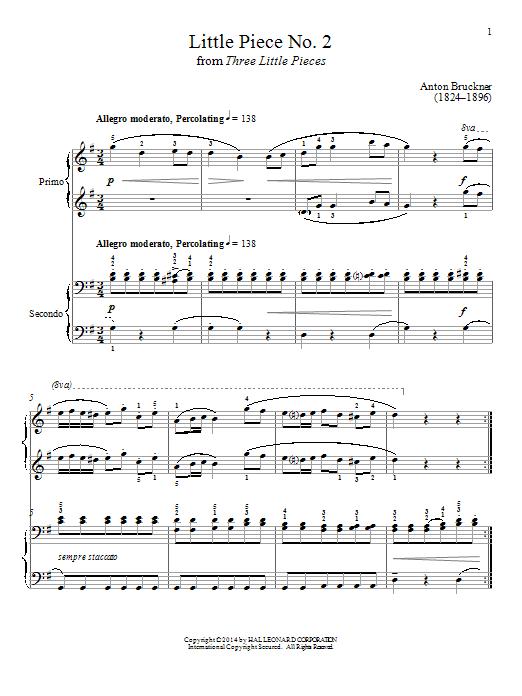 Bradley Beckman Little Piece No. 2 sheet music notes and chords