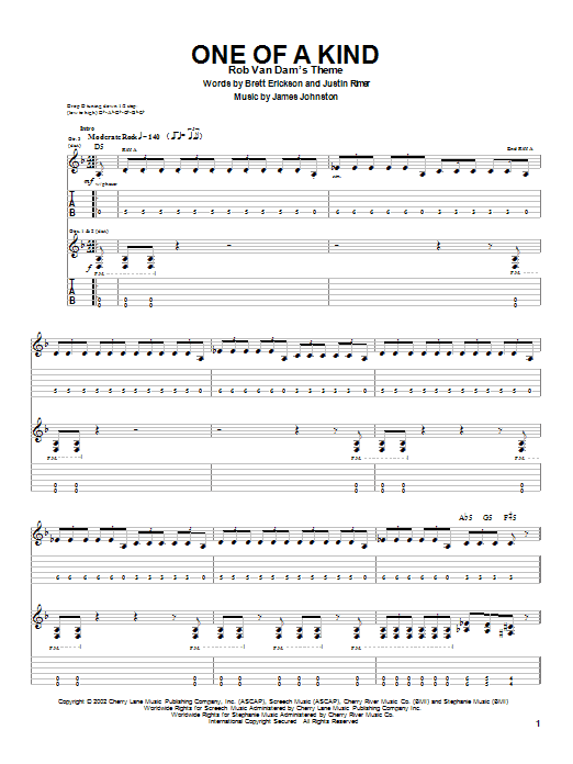 Breaking Point One Of A Kind sheet music notes and chords