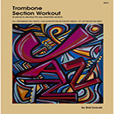 Download or print Bret Zvacek Trombone Section Workout with MP3's (6 pieces to develop the jazz ensemble section) - 1st Trombone Sheet Music Printable PDF 15-page score for Instructional / arranged Brass Ensemble SKU: 458220.