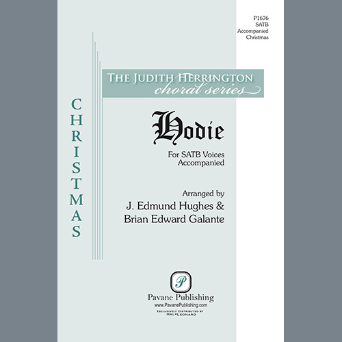 Easily Download Brian Edward Galante and J. Edmund Hughes Printable PDF piano music notes, guitar tabs for SATB Choir. Transpose or transcribe this score in no time - Learn how to play song progression.