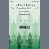 Download or print Camille Saint-Saens Tollite Hostias (arr. Audrey Snyder) Sheet Music Printable PDF 7-page score for Christmas / arranged 2-Part Choir SKU: 407410.