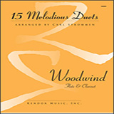 Download or print Carl Strommen 15 Melodious Duets Sheet Music Printable PDF 34-page score for Instructional / arranged Brass Ensemble SKU: 411983.