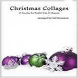 Download or print Carl Strommen Christmas Collages - Viola Sheet Music Printable PDF 22-page score for Christmas / arranged String Ensemble SKU: 472693.