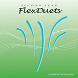 Download Carl Strommen 'Second Year FlexDuets - Bass Clef Instruments' Printable PDF 22-page score for Instructional / arranged Brass Ensemble SKU: 372613.