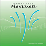 Download Carl Strommen 'Second Year FlexDuets - Bb Instruments' Printable PDF 22-page score for Instructional / arranged Woodwind Ensemble SKU: 372625.