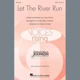 Download Carly Simon 'Let The River Run (arr. Craig Hella Johnson)' Printable PDF 10-page score for Pop / arranged TTBB Choir SKU: 409064.