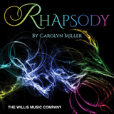 Download or print Carolyn Miller Rhapsody In D Minor Sheet Music Printable PDF 6-page score for Instructional / arranged Educational Piano SKU: 411412.
